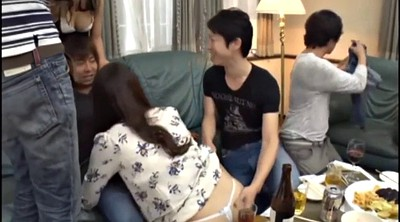 Japanese orgy, Japanese handjob, Japanese party