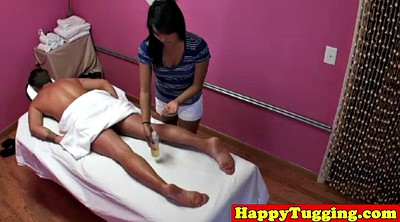 Asian massage, Voyeur, Masturbate, Massage handjob