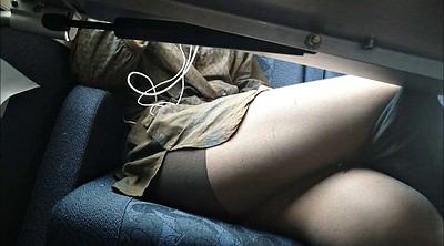 Pantyhose, Table, Under table, Pantyhose fetish, Train upskirt, Pantyhose upskirt