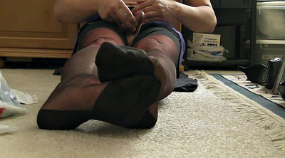 Nylon feet, Shoes, Vintage lesbian, Cum shoes, Cum shoe