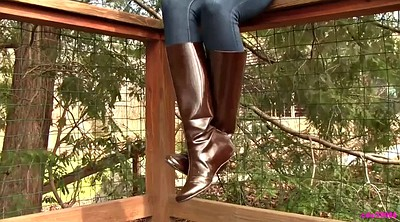 Leather, Boots
