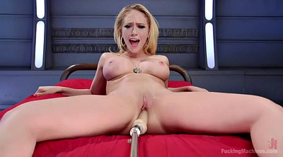 Piercing, Close up, Sex machine, Kagney lynn carter, Solo cum, Make up