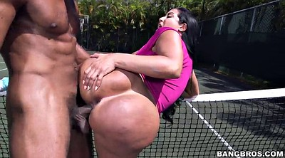 Sports, Tit job, Hand job, Big ass latina