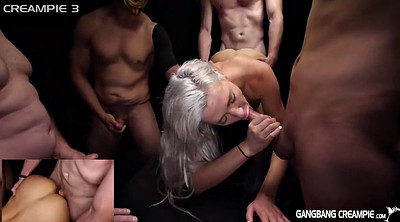 Beautiful, Gangbang creampie, Skinny creampie, Kacey, Beautiful gangbang