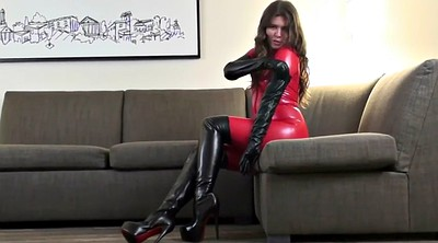 Boots, Red boots, Red