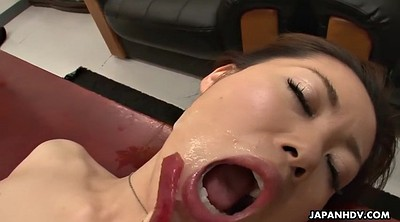 Japanese office, Yui, Naked, Japanese hairy, Creampie gangbang