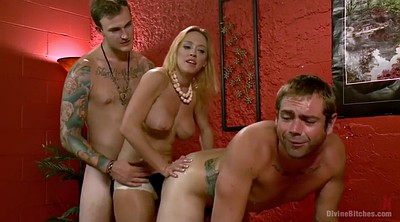 Femdom, Slave, Another man