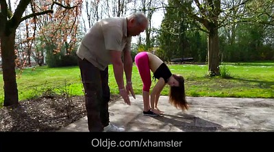 Grandpa, Old grandpa, Exercise