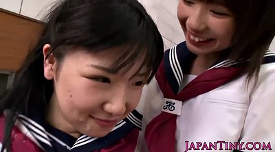 Japanese teen, Hairy creampie, Teen japanese, Schoolgirl, Japanese uniform, Japanese threesome