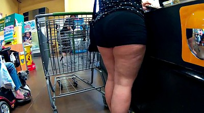 Milf, Wife big ass, Thigh, Spandex