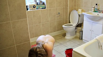 Toilet, Young girl, Solo girl, Toilet girl, Solo teen, Toilet clean