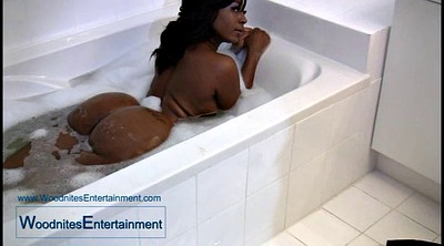 African, Black booty, Bbw shower