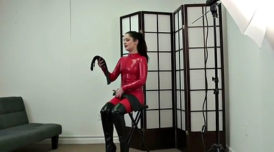 Catsuit, Red