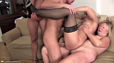 Old gangbang, Young boy, Mom sex, Mom boy, Milf and boy