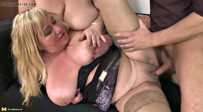 Boy, Young fuck, Mature bbw