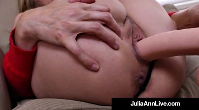 Julia ann, Anne, Julia, Mature dildo, Julia ann mature