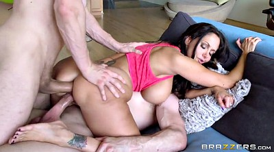 Ava addams, Wife threesome, Gape, Trainer, Husband and wife, Wife double penetration