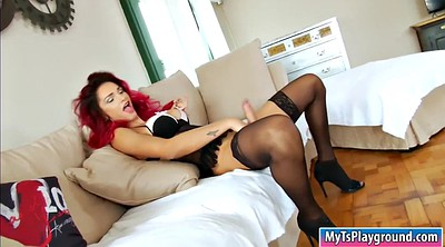 Monster cock, Thick, Thick cock, Shemale monster cock, Monster cocks, Busty redhead