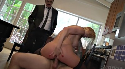 Alexis fawx, In front of, Kitchen fuck, Blonde cuckold, Alexis fawx