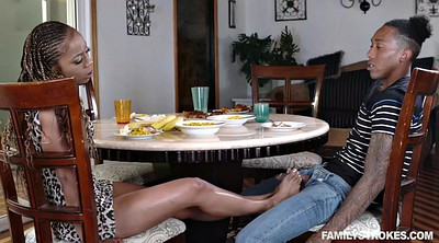 Family, Cheating, Ebony feet, Funny, Family sex