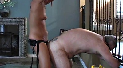 Strapon, Face sitting, Mature femdom, Rammed