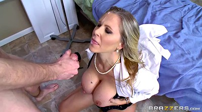 Lisa ann, Monster, Monster cock, Examination, Monster of cock, Mature doctor