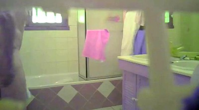 Spying, Bbw shower