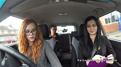Car, Ffm, Amateur threesome