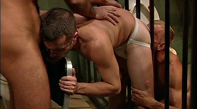 Muscle gay, Bar, Prison, Spitting