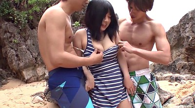 Japanese uncensored, Japanese threesome, Japanese outdoor