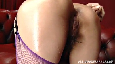 Hairy, Pantyhose blowjob, Asian face fuck, Pantyhose asian