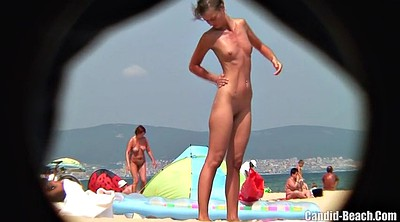 Beach, Nudist, Videos, Big clits, Slim milf