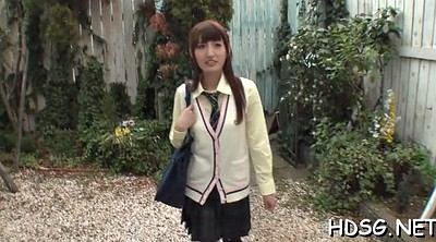Japanese schoolgirl, Japanese blowjob
