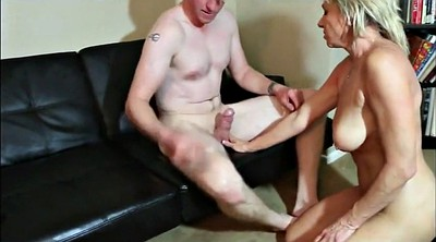 Old mature, Young milf, Mom mature