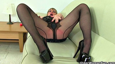 Milf nylon, British mature