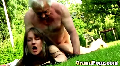 Grandpa, Abuse, Abused, Round ass, Ass finger