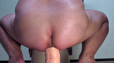 Gape, Monster sex, Bbw dildo riding