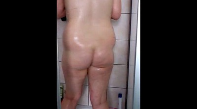 Blonde bbw, German chubby, Chubby german, Bbw shower