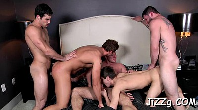 Orgy, Gay anal