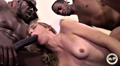 Monster cock, Gangbang black