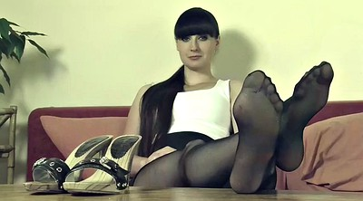 Nylons, Nylon feet, Mistress feet, Feet nylon, Feet joi, Pantyhose feet fetish
