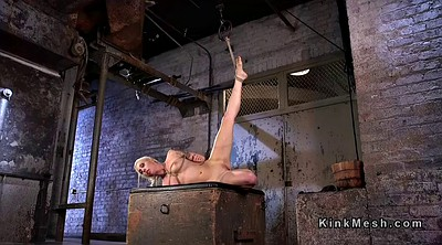 Caning, Hogtied, Dungeon