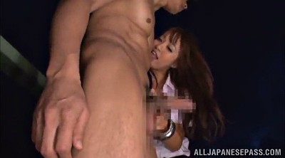 Japanese, Asian handjob, Hairy creampie, Japanese creampie, Japanese outdoor, Hairy outdoors
