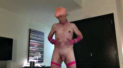 Gloves, Glove, Nipples, Femboy, Pierced, Big nipples