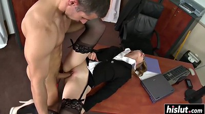 Tits, Milf office