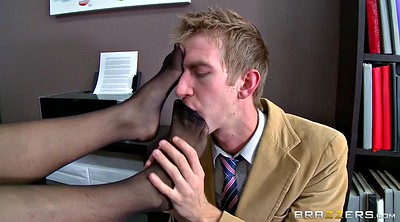Officer, Foot lick, Office foot, Worship, Feet lick, Worship foot