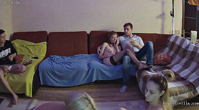 Party, Hidden cam, Cams, Russian party