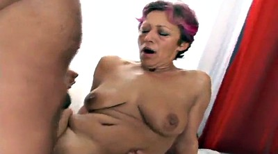 Mature gangbang, Mature whore