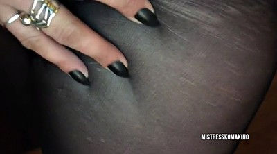 Long, Ruined, Long nails, Ruin, Ebony femdom
