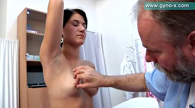 Saggy, Old young, Teen feet, Exam, Shaved granny, Doctor exam